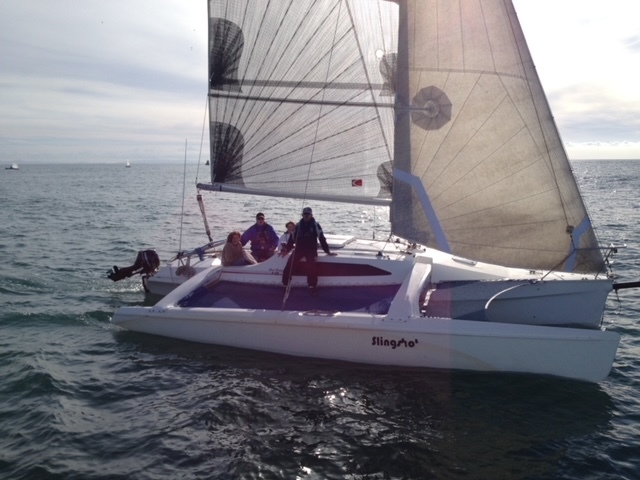 Our 2nd Trimaran 'Slingshot' That Replaced 'Sea Wing' in 2013